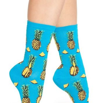 Hot Sox 'Pineapples' Socks (3 for $15) | Nordstrom
