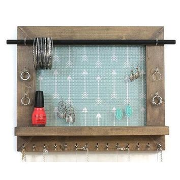 Arrow Wall Hanging Jewelry Display