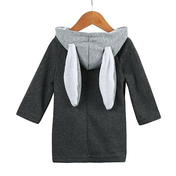 Hooded Rabbit Ear Jacket