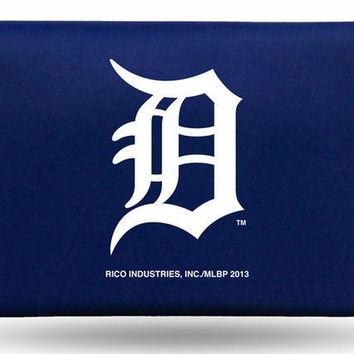 ONETOW MLB Rico Detroit Tigers Nylon Mens Trifold Wallet