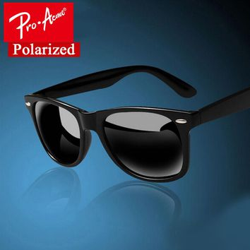 Sunglasses Pro Acme Fashion Classic Square Polarized Men Brand Designer Male Coa
