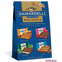 Ghirardelli Chocolate Squares Assortment: 50-Piece Bag