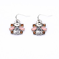 Soft Pink Drop Earrings