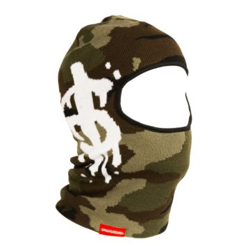 Sprayground - Camo Money Drip Ski Mask