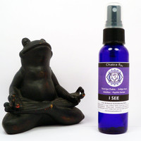 "THIRD EYE CHAKRA Rx ""I See"" Spray . Indigo Aura . Clairvoyance . Psychic 3rd Eye Spray with Pure Essential Oils"