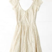 AEO Women's Kate Dress (Cream)