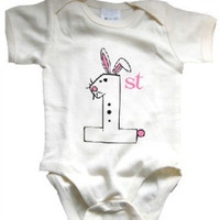 Baby's First Easter Organic Onesuit