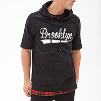 Brooklyn Hoodie Black/White