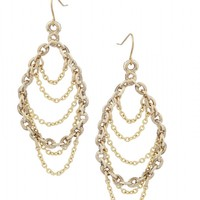 Low Luv by Erin Wasson Dangling Chain Earrings