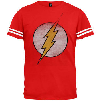 Flash - Distressed Logo Jersey T-Shirt