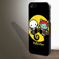 Hello kitty nightmare before Christmas for iphone 4/4s/5/5s/5c/6/6+, Samsung S3/S4/S5/S6, iPad 2/3/4/Air/Mini, iPod 4/5, Samsung Note 3/4 Case **