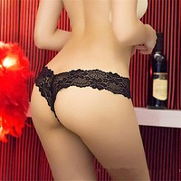 G String Sexy Underwear Lace Briefs Panties-Lingerie