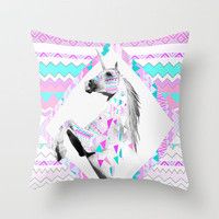 TWIN SHADOW by Vasare Nar and Kris Tate Throw Pillow by Vasare Nar | Society6