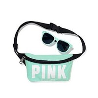Victoria's Secret Fanny Pack & Sunglasses Light Blue