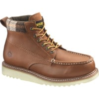 "Men's Shindell Waterproof Moc-Toe 6"" Wedge Casual Boot - W00331 - Casual Boots 
