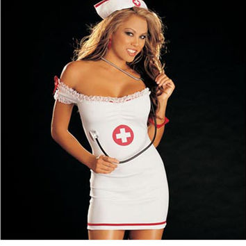 Nurse Uniform Sexy Women Medical Naughty Costume Devil Sexy Nurse Costumes Temptation Nightclub Halloween Costume For Women