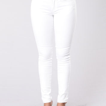 Not From The City Jeans - White