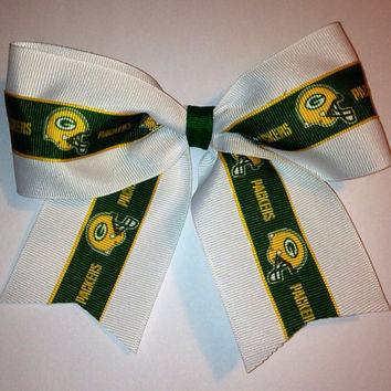NFL Green Bay Packers Cheer Hair Bow