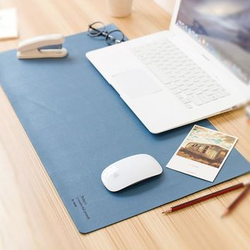 Optimistic Double-Sided Office Desk Pad