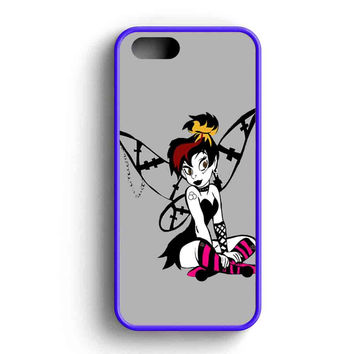 Tinkerbell Gothic iPhone Case For iPhone SE, 5s, 5c, 4