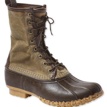 """Signature Men's Waxed-Canvas Maine Hunting Shoe, 10"""""""