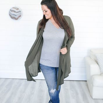 My Revival Cardigan + Olive