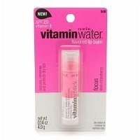 Vitamin Water Focus Flavored Lipbalm, SPF 20, Kiwi Strawberry .14 oz (4 g)