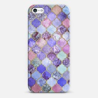 Royal Purple, Mauve & Indigo Decorative Moroccan Tile Pattern iPhone 6 case by Micklyn Le Feuvre | Casetify