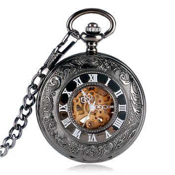 Pocket Watch Steampunk Antique Mechanical