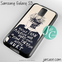 tokyo ghoul Phone case for samsung galaxy S3/S4/S5