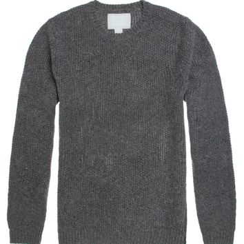 Reign+Storm Drifter Crew Sweater - Mens Sweater - Gray
