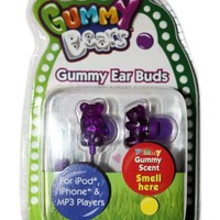 Gummy Bear 11024-GRAPE Scented Grape Earbuds