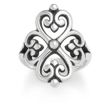Adorned Hearts Ring | James Avery