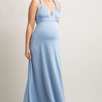 Marilyn Multi-Way Maxi Dress - Moon