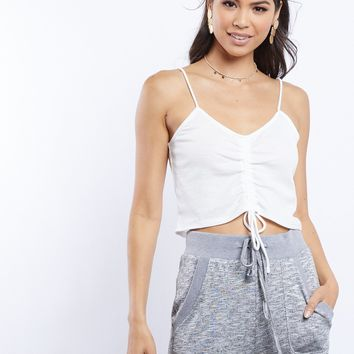 Anabelle Ruched Tank Top