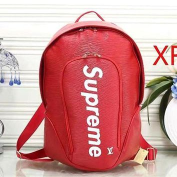 DCC3W Louis Vuitton x Supreme Fashion Shoulder Bag Bookbag Backpack-1