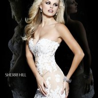 Sherri Hill Short Dress 21187 at Prom Dress Shop