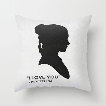 Star Wars Poster 13 Throw Pillow by Misery