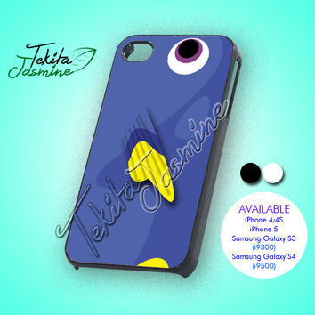 Dory the fish - iPhone 4/4s/5 Case - Samsung Galaxy S3/S4 Case - Black or White