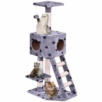 Cat Furniture Tree Play House Tower Condo Bed Scratch Post
