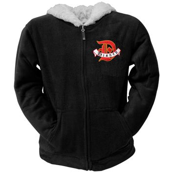 Mickey Mouse - Group Shield Women's Zip Hoodie