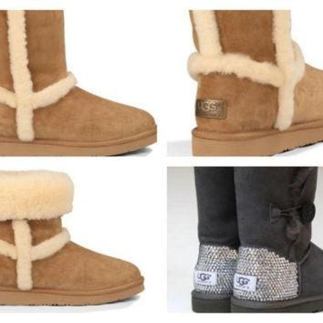 DCCK8X2 Custom UGG Boots made with Swarovski Free: Shipping, Repair Kit, Cleaning Kit, Crystal