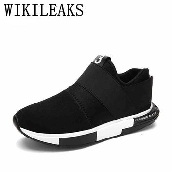 slip on sneakers mens shoes casual loafers designer versio shoes luxury 2017 brand breathable shoes man tenis zapatos hombre