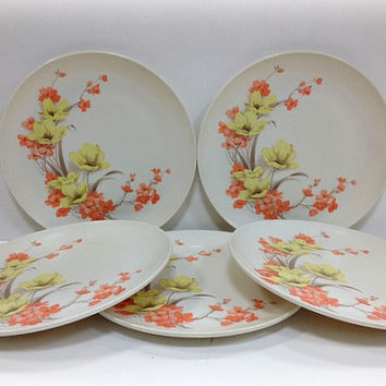 Boontonware Melmac Dinner Plates Somerset by vintage19something
