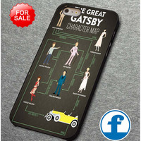 The Great Gatsby character  for iphone, ipod, samsung galaxy, HTC and Nexus Phone Case