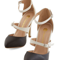 ModCloth Colorblocking Head to Two-Tone Heels