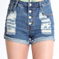 Dark Feeling Shorts by MINKPINK