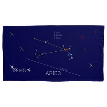 Constellation ARIES unique, sublime Pillow Case