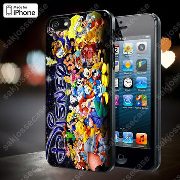 Disney Character Collage Case for iPhone 5/5S, 4/4S, and Samsung Galaxy S3/S4