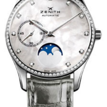 Zenith - Elite Lady Ultra Thin Moonphase Stainless Steel #16.2310.692/81.C706